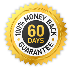 100% money back within 60 days